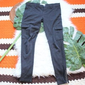 Free People Fleece Utility Pants Skinny leg 27